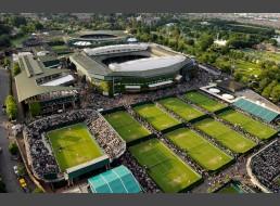 WIMBLEDON 2019 -  VIP hospitality centre court