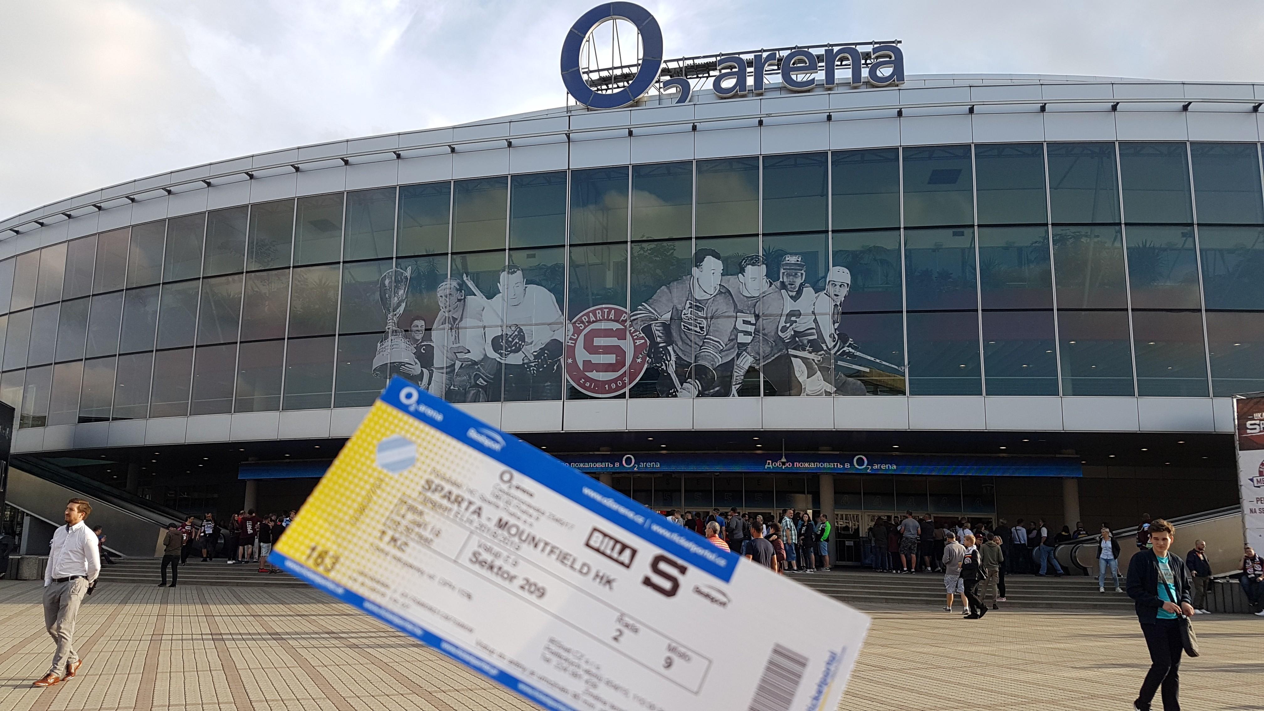HC Sparta Prague - HC Vitkovice Ridera