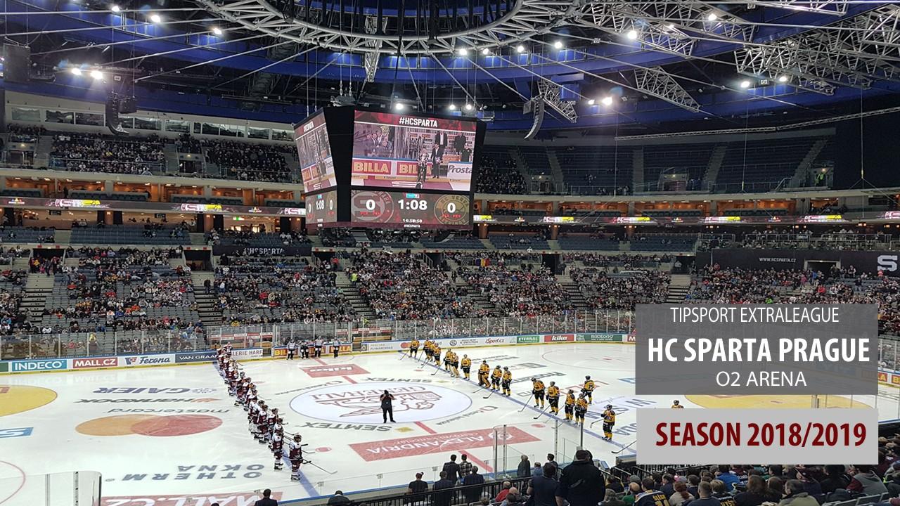 HC Sparta Prague 2018/2019